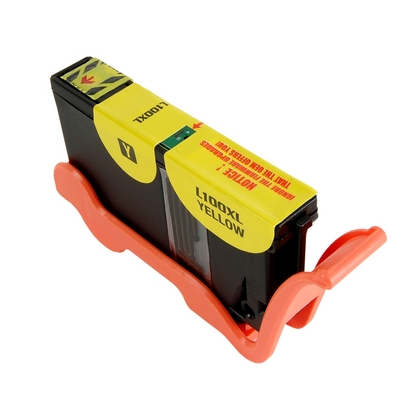 Lexmark 100XL (14N1071E) žlutá kompatibilní náplň / 12ml