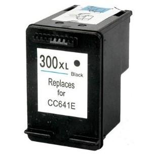 HP č.300XL (CC641EE) černá kompatibilní náplň / 19ml