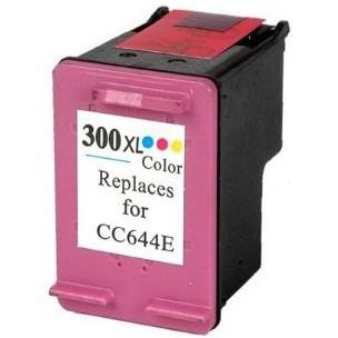 HP č.300XL (CC644EE) barevná kompatibilní náplň / 12ml