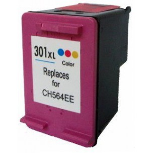 HP č.301XL (CH564EE) barevná kompatibilní náplň / 18ml