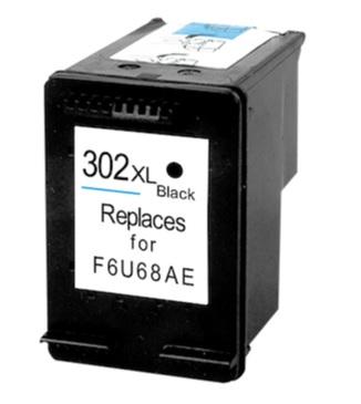 HP č.302XL (F6U68AE) černá kompatibilní náplň / 480 stran