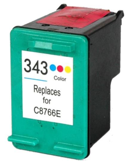 HP č.343 (C8766E) barevná kompatibilní náplň / 18ml