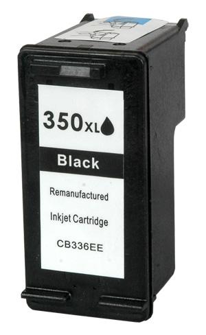 HP č.350XL (CB336EE) černá kompatibilní náplň / 30ml