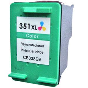 HP č.351XL (CB338EE) barevná kompatibilní náplň / 18ml