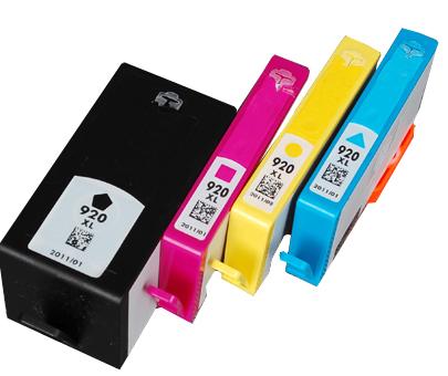Multipack 4ks kompatibilních náplní HP 920XL (C2N92A)