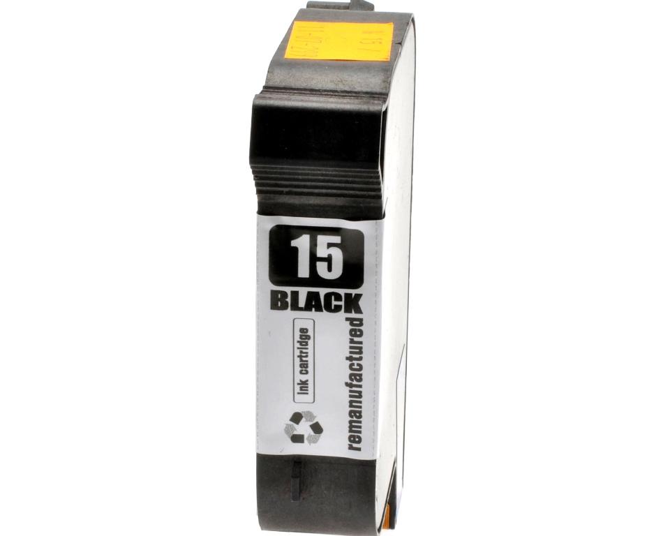 HP č.15 (C6615D) černá kompatibilní náplň / 42ml