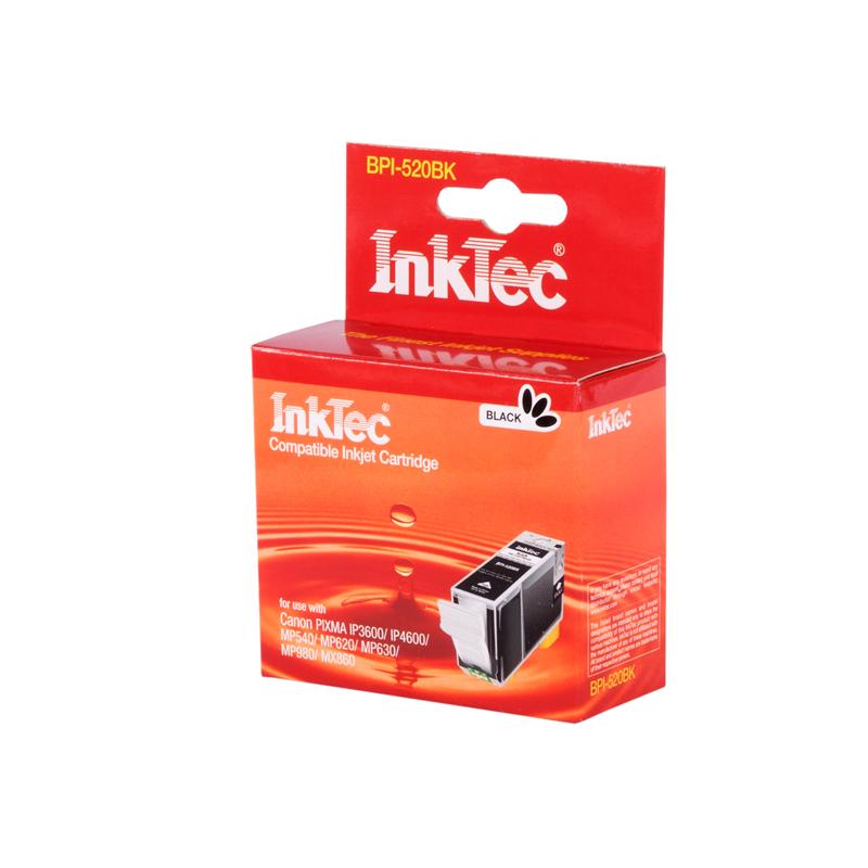 CANON PGI-520BK černá kompatibilní náplň / InkTec
