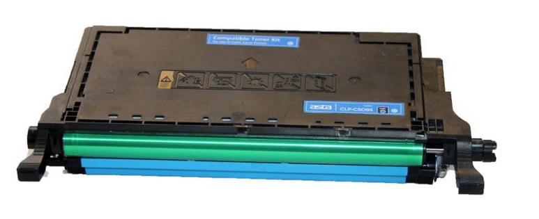 Samsung CLT-C5082L azurový kompatibilní toner / 4.000 stran