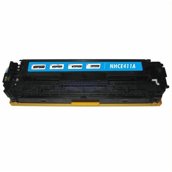 HP CE411X (305X) azurový kompatibilní toner / 2.600 stran