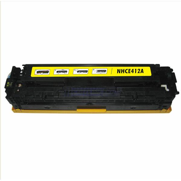 HP CE412X (305X) žlutý kompatibilní toner / 2.600 stran