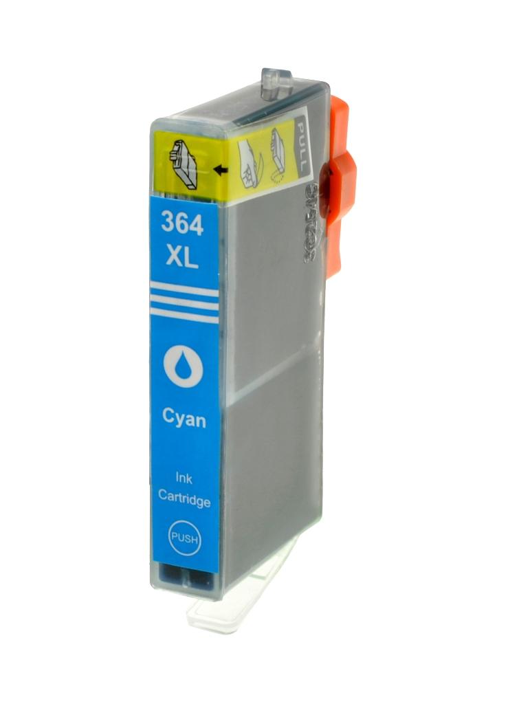 HP č.364XL (CB323EE) azurová kompatibilní náplň / 15ml