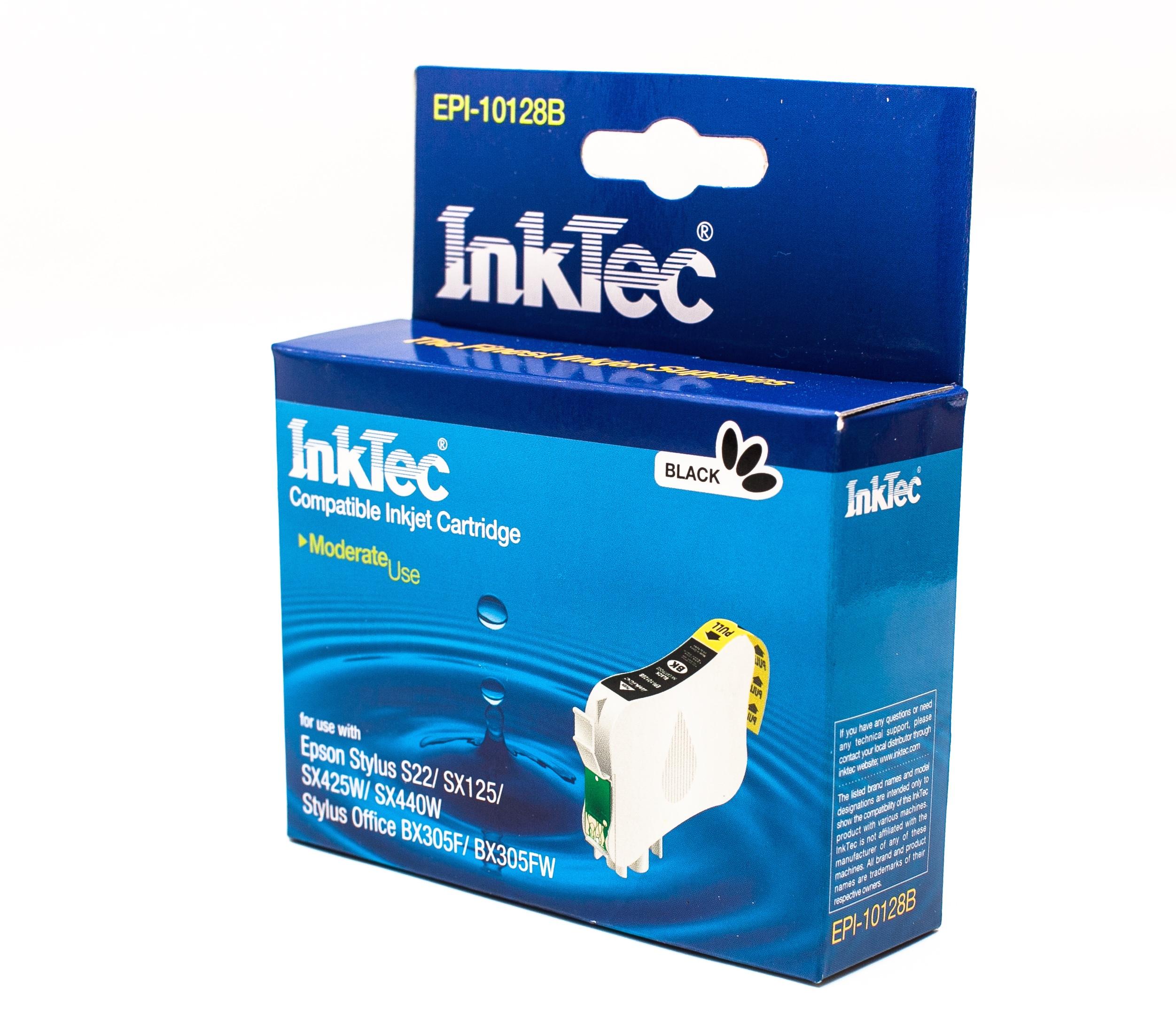 Epson T1281 černá kompatibilní náplň / InkTec