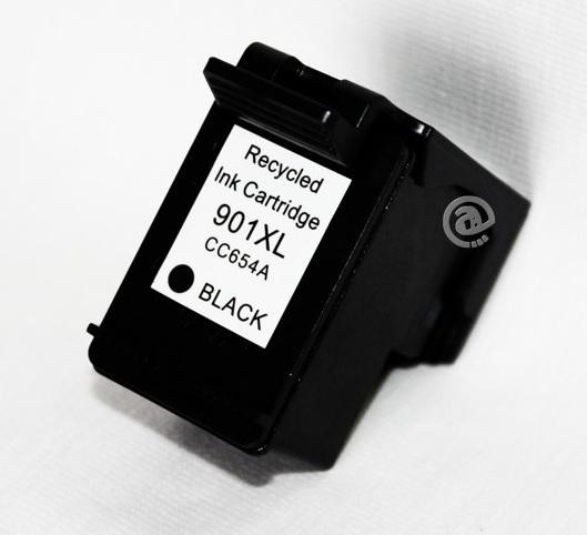 HP č.901XL (CC654AE) černá kompatibilní náplň / 20ml