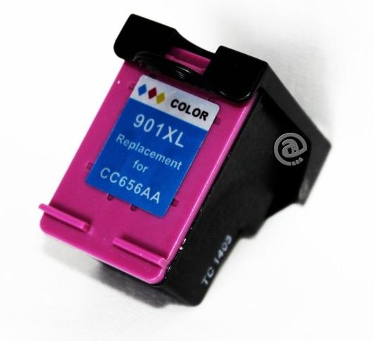 HP č.901XL (CC656AE) barevná kompatibilní náplň / 15ml