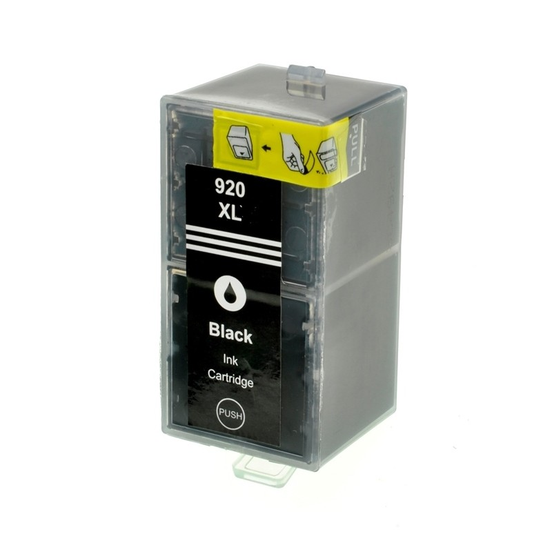 HP č.920XL (CD975AE) černá kompatibilní náplň / 55ml