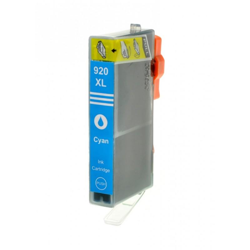 HP č.920XL (CD972AN) azurová kompatibilní náplň / 14,5ml