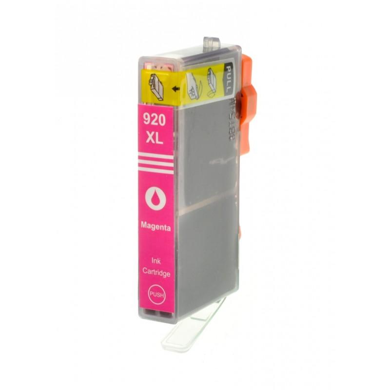 HP č.920XL (CD973AN) purpurová kompatibilní náplň / 14,5ml