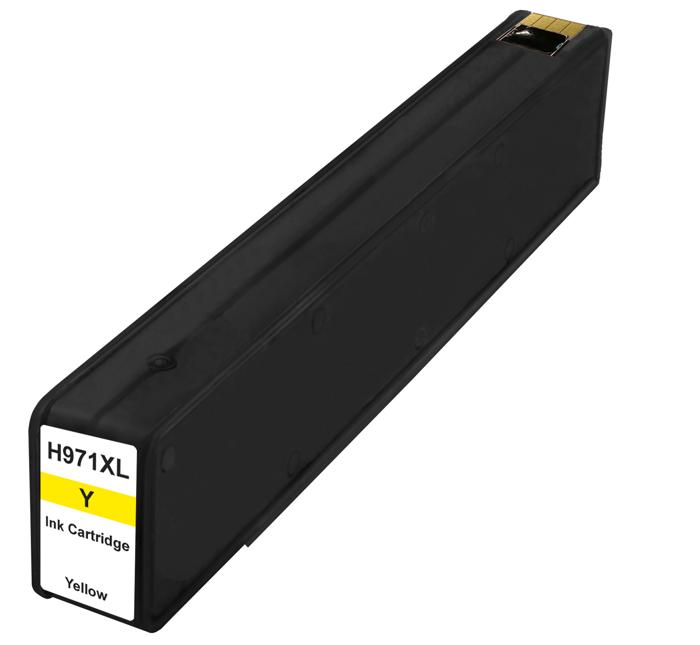 HP č.971XL (CN628AE) žlutá kompatibilní náplň / 120 ml