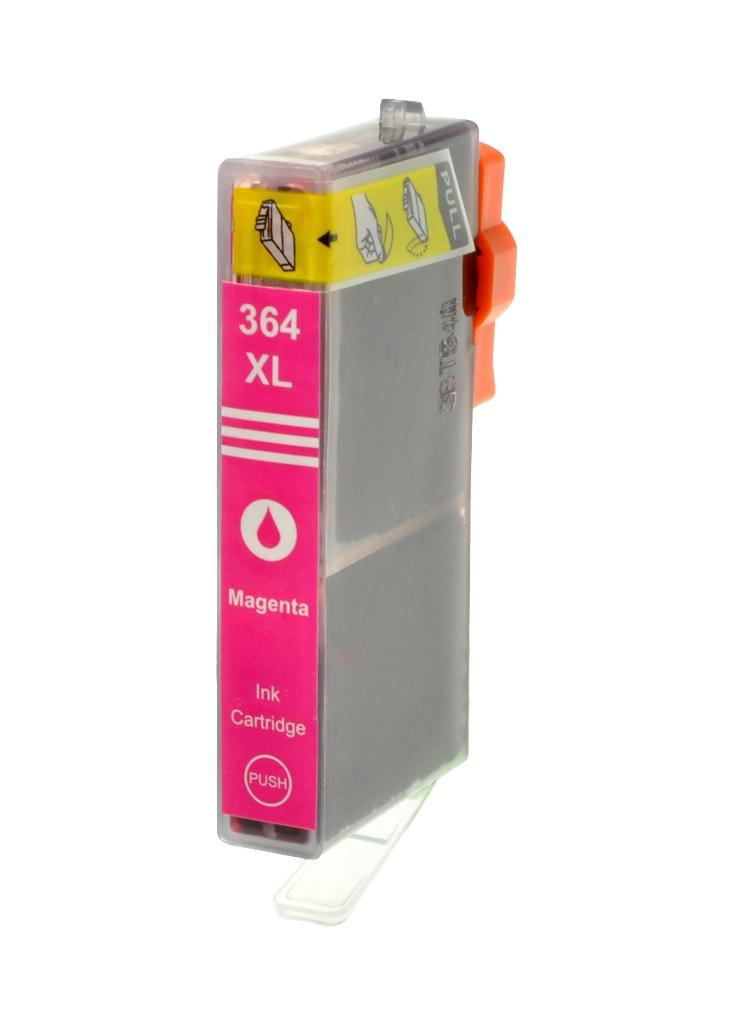 HP č.364XL (CB324EE) purpurová kompatibilní náplň / 15ml