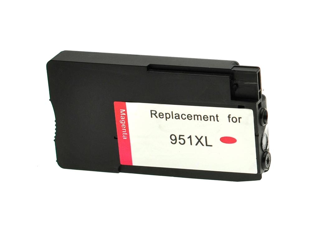 HP č.951XL (CN047AE) purpurová kompatibilní náplň / 1.500 stran