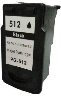 CANON PG-512 černá kompatibilní náplň / 15ml