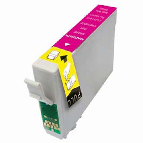 EPSON T0553 XL purpurová kompatibilní náplň / 18ml