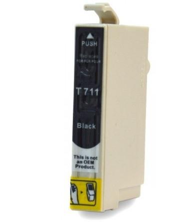 EPSON T0711 XL černá kompatibilní náplň / 14ml