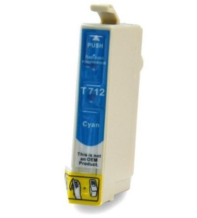 EPSON T0712 XL azurová kompatibilní náplň / 12ml