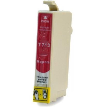 EPSON T0713 XL purpurová kompatibilní náplň / 12ml