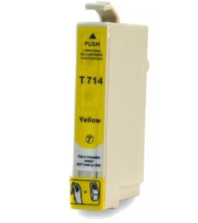 EPSON T0714 XL žlutá kompatibilní náplň / 12ml