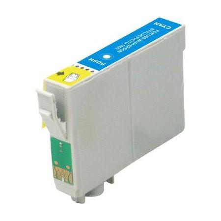 EPSON T0805XL sv.azurová kompatibilní náplň / 15ml