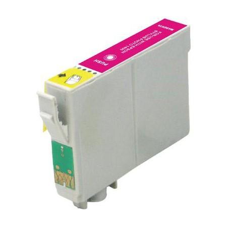 EPSON T0806XL sv.purpurová kompatibilní náplň / 15ml
