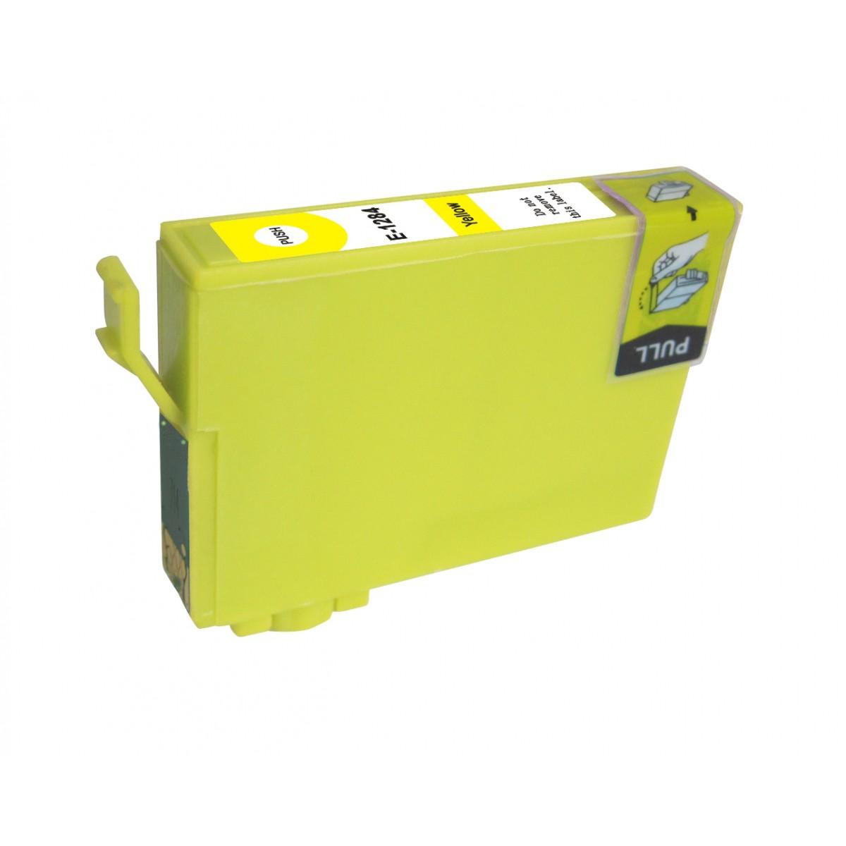 EPSON T1284 XL žlutá kompatibilní náplň / 14ml