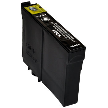 EPSON T1291 XL černá kompatibilní náplň / 15ml