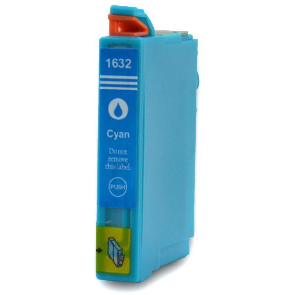 EPSON T1632 (16XL) azurová kompatibilní náplň / 10ml