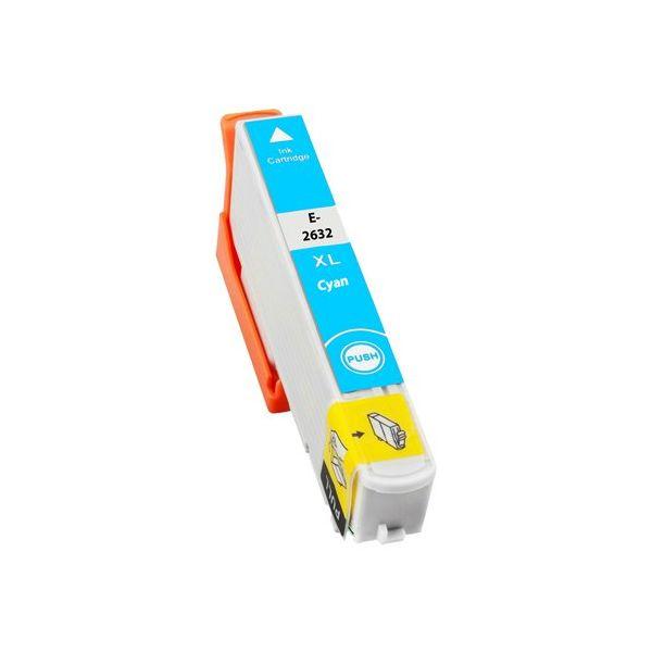 EPSON T2632 azurová kompatibilní náplň / 12ml