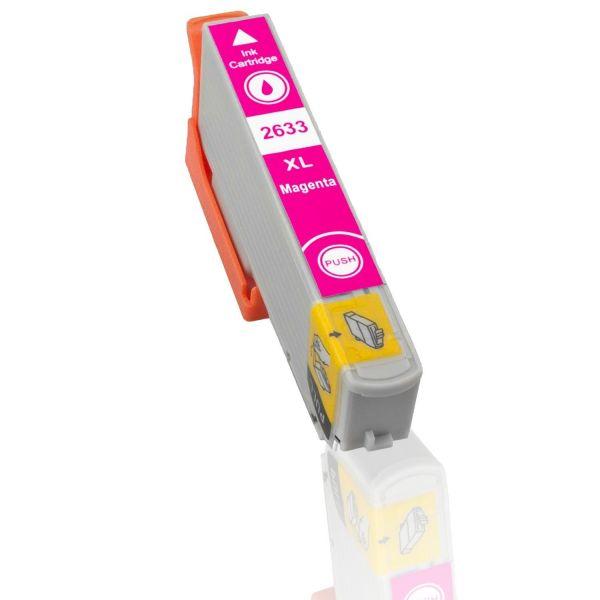 EPSON T2633 purpurová kompatibilní náplň / 12ml