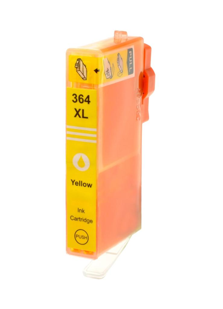 HP č.364XL (CB325EE) žlutá kompatibilní náplň / 15ml