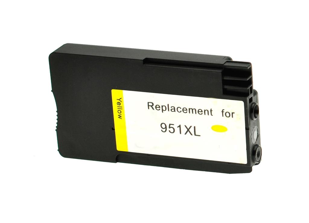 HP č.951XL (CN048AE) žlutá kompatibilní náplň / 1.500 stran