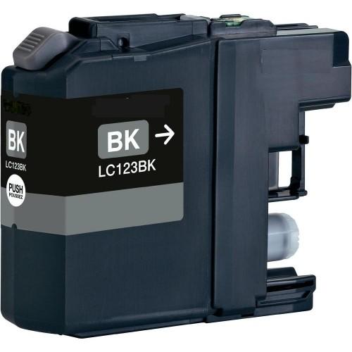 Brother LC-123 černá kompatibilní náplň / 20ml