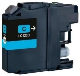 Brother LC-123 azurová kompatibilní náplň / 10ml
