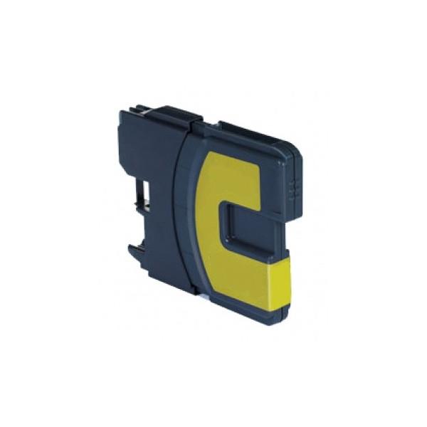 Brother LC-980/LC-1100 žlutá kompatibilní náplň / 16ml