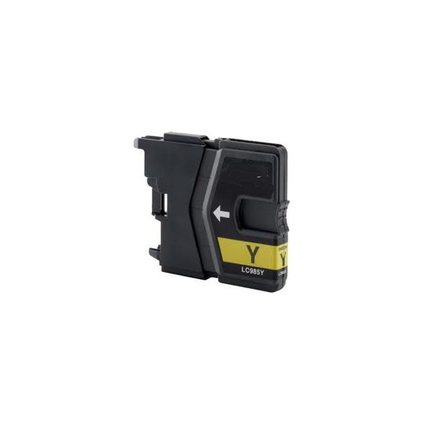 Brother LC-985 žlutá kompatibilní náplň / 19ml