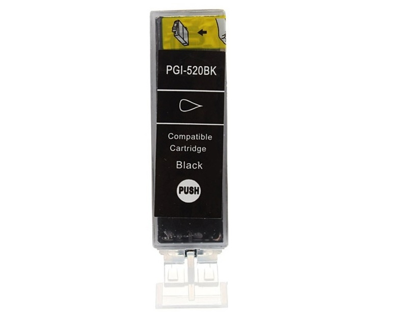 CANON PGI-520BK černá kompatibilní náplň / 21ml