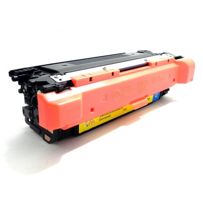 HP CE251A azurový kompatibilní toner / 7.000 stran