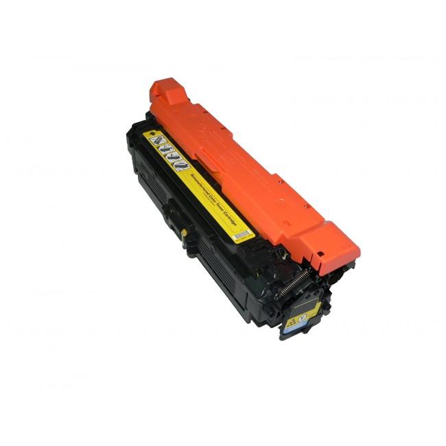 HP CE252A žlutý kompatibilní toner / 7.000 stran