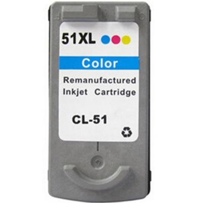 CANON CL-51 XL barevná kompatibilní náplň / 24ml