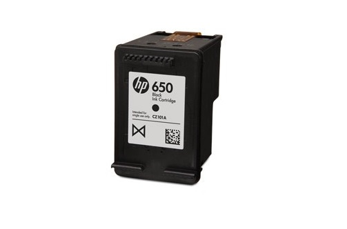 HP č.650 (CZ101AE) černá originální náplň / 360stran