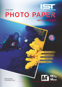Foto Papír Matný A4, 50 Ks, 128g/M2 IST / Voděodolný