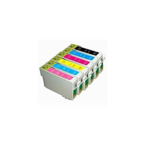 Multipack 6ks kompatibilních náplní Epson T0791 - T0796